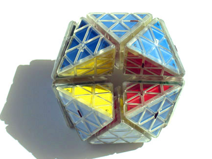 Tetrex, the 3D Rubik's Magic